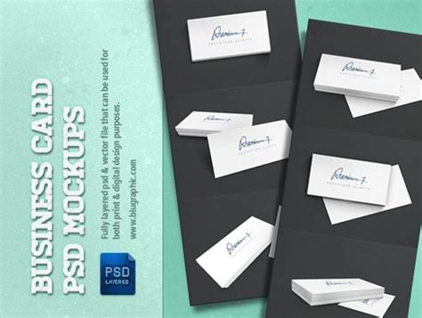 Business Card Presentation Template Psd by 20 Flat Company Director Blank Business Card Mockup Psd