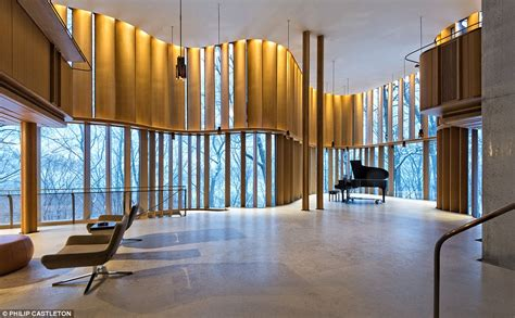 integral house toronto home doubles as concert venue designed by professor daily mail online