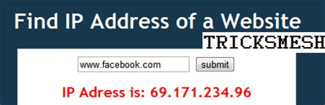 Lookup Ip Address From Url How To Unblock Site At Blocked Places Enhance