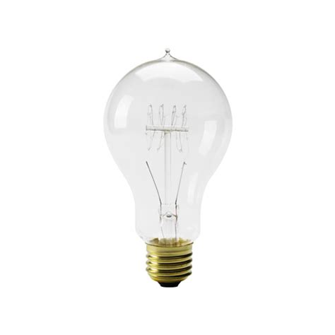 light bulb shaped l edison bulb a shape l 40w e26 detail inc