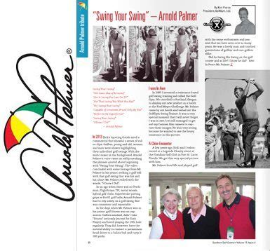 swing your swing arnold palmer golfgym 174 llc - Swing Your