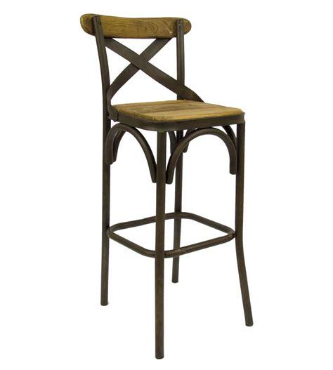 sgabelli ferro vintage sgabello in ferro battuto lavorato e seduta in legno a