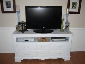 dresser repurposed as tv stand repurpose