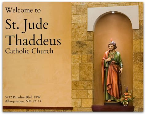 st jude thaddeus catholic church st jude thaddeus