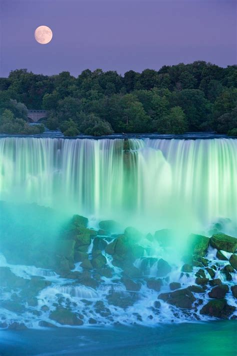 beautiful picture the american falls near niagara falls canada photo