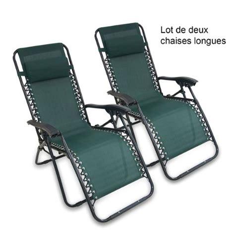 chaises longues de jardin chaise longue jardin achat et vente neuf d occasion