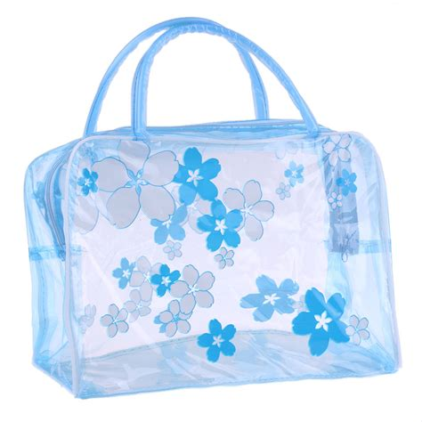 New Korean Pattern Toiletry Pouch For Travel popular clear pvc cosmetic bag buy cheap clear pvc