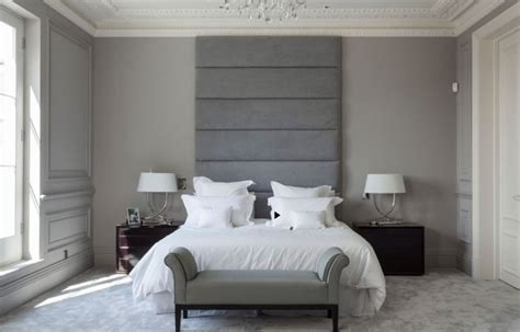 gray upholstered headboard awesome grey upholstered headboard for the bedroom
