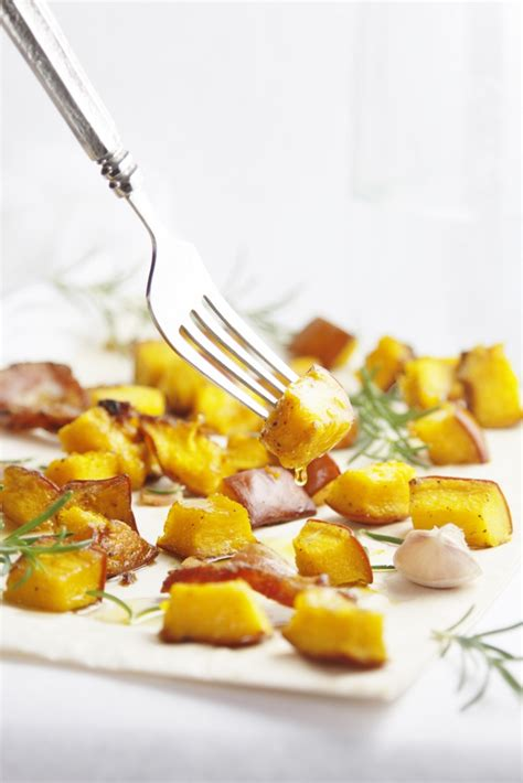 roasted pumpkin  pancetta  rosemary bell alimento bell alimento