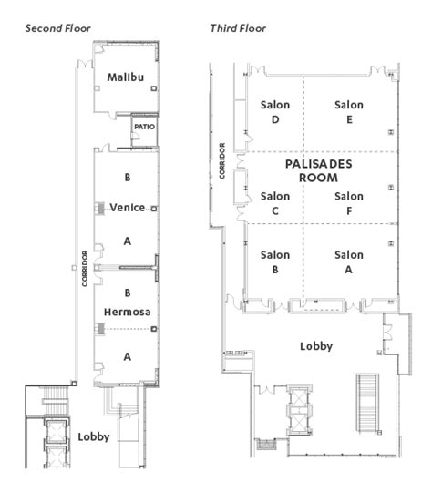 Party Floor Plan by Event Spaces Amp Floor Plans Ucla Catering