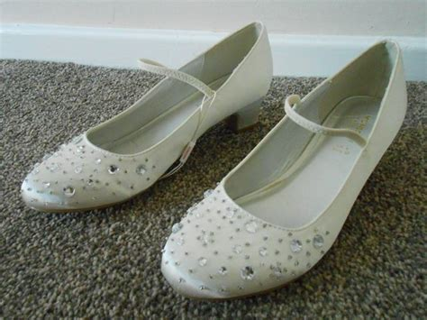 Preloved Wedding Shoes Donamici brand new monsoon ivory child s wedding shoes for sale in tamworth staffs preloved