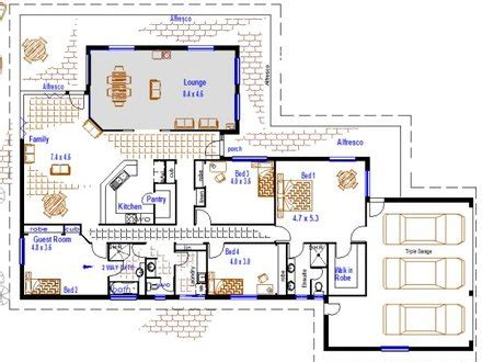 guest suite house plans florida house plan architectural designs architectural designs house plans triple
