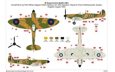 airfix a05126 supermarine spitfire mk i 1 48