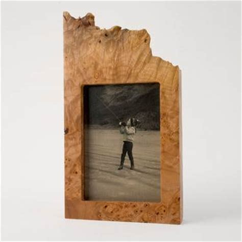 Handmade Wood Frames - burl wood picture frames by neil handmade