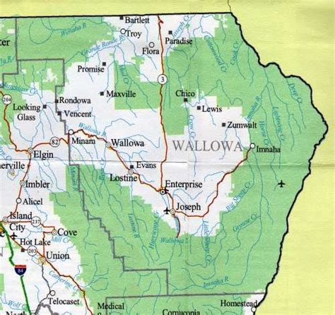Clackamas County Divorce Records Wallowa Lake State Park Map Map Of The Wallowa County