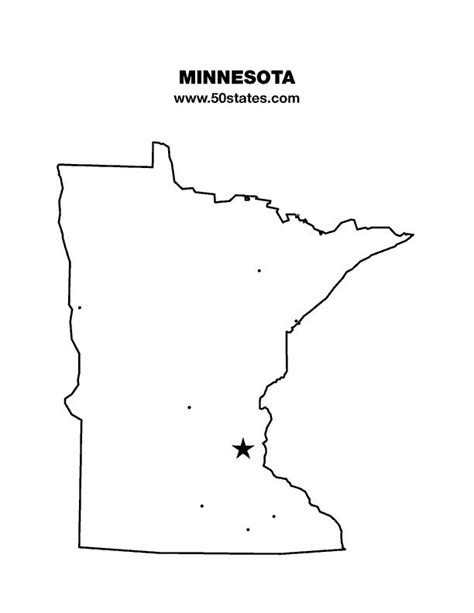State Minnesota Search State Outlines For Crafts Map Crafty Things I Want To