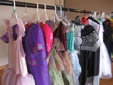 Costume Racks by Save Money By Hosting A Costume The Kid S