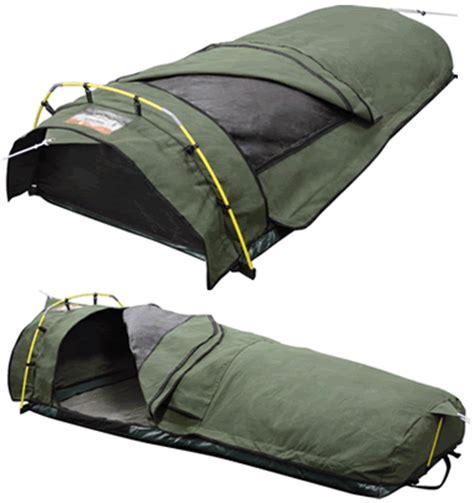 cing bed roll roman ridgeline king single dome canvas swag bed roll