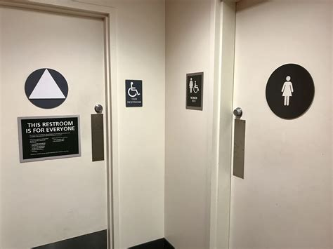 unisex bathrooms california what exactly is going on with the ucsb bathrooms