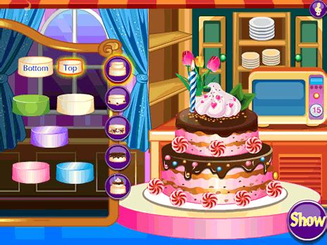 cake decoration game play   ycom