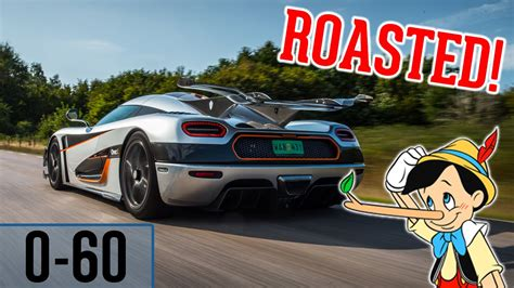 koenigsegg one 1 0 60 koenigsegg one 1 owner gets roasted 0 60 2