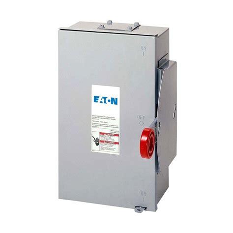 Eaton 100 Amp 120 240 Volt 24 000 Watt Non Fused General
