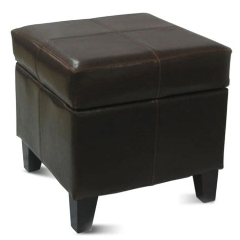 small ottoman with storage small storage ottoman black walmart