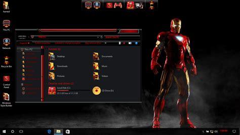 themes for windows 10 iron man jarvis skinpack skinpack customize your digital world