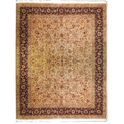 gold wool rug aziz traditional gold brown wool rug 4870 andonian rugs seattle bellevue store sales