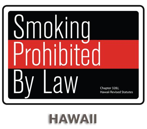 no smoking sign hawaii hawaii no smoking sign r5706 by safetysign com