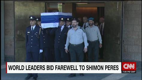 World Leaders Bid Farewell To World Leaders Bid Farewell To Shimon Peres Cnn