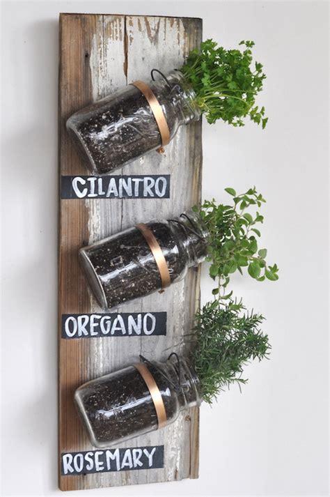 indoor wall herb garden 10 diy indoor herb garden ideas and planters honey lime