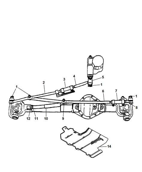 2005 Dodge Ram 2500 Parts Diagram