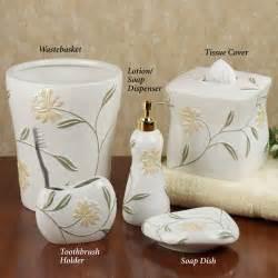 shower bathroom decor home bath bath accessories penelope bath accessories by croscill