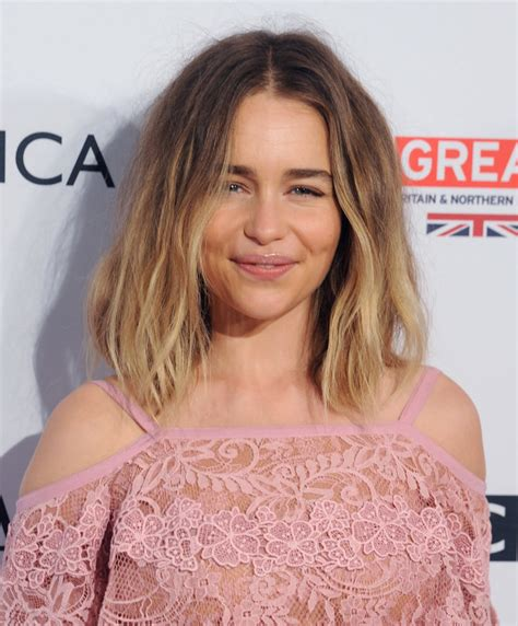 Emilia Clarke's New Hair May Be For A Secret Not So Far