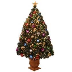 fiber optic christmas trees 4 fiber optic decorated