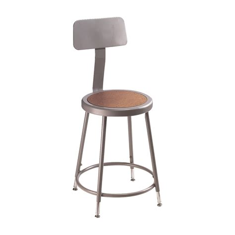 werkstatt rollhocker national seating adjustable shop stool with back
