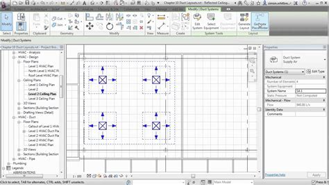 tutorial revit mep pdf revit mep 2013 tutorial automatic duct layouts youtube