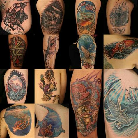 tattoo ink didn t take ink master ocean tats tattoos pinterest ink master