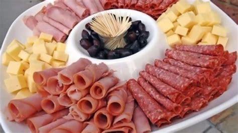 dekorieren eines speisesaals buffet kalte platten selber machen dekorieren ideen f 252 r den