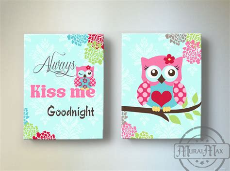 Baby Owl Nursery Decor Owl Nursery Decor Owl Canvas Baby Nursery Owl