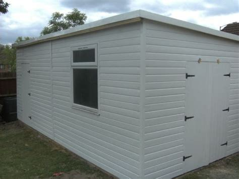 Upvc Shed by Freespace Outdoor Buildings Garden Shed Supplier In