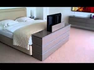 Footboard For Bed Tv Lift Meubel Aan Voeteneinde Bed Youtube