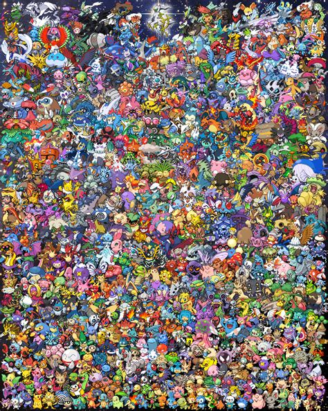 All Search Arceus Creatures All By Greatmik On Deviantart