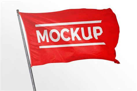 flag mockup mockuptree