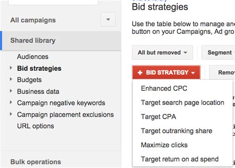 adwords bid bid strategies in adwords amazee metrics