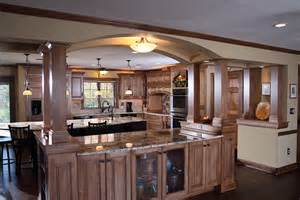 open shelves kitchen kitchen islands with columns and