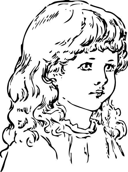 girl clip art  clkercom vector clip art