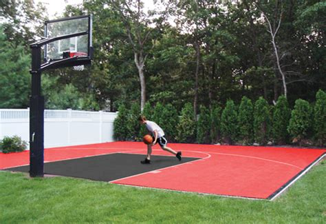 basketball court outdoor or indoor home basketball