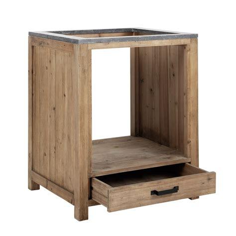 four pour cuisine 駲uip馥 meuble bas de cuisine pour four en bois l 70 cm pagnol